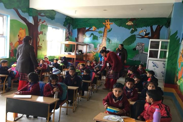 Anuradha Public Senior Secondary School-Classroom