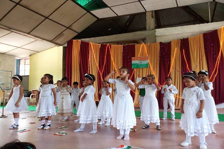 Aryan Public School-Dancing Activity