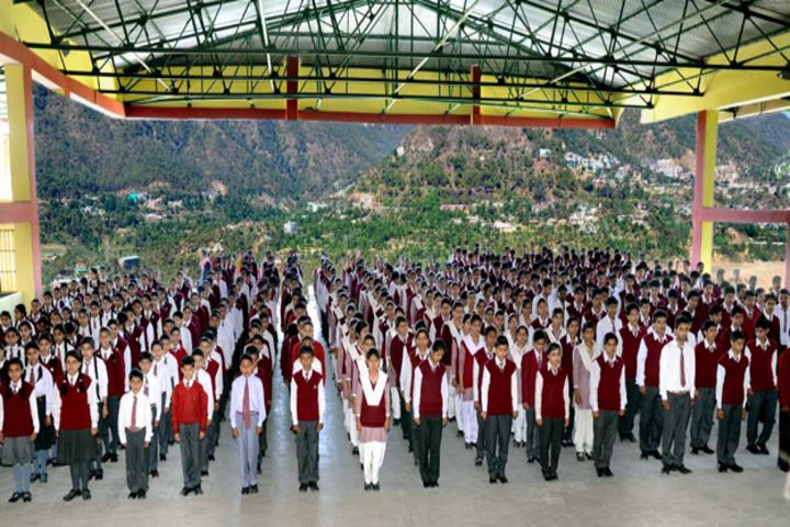 B L Central Public School-Morning Assembly