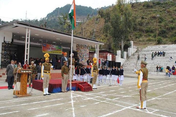 B S P Central School-Flag Hoisting