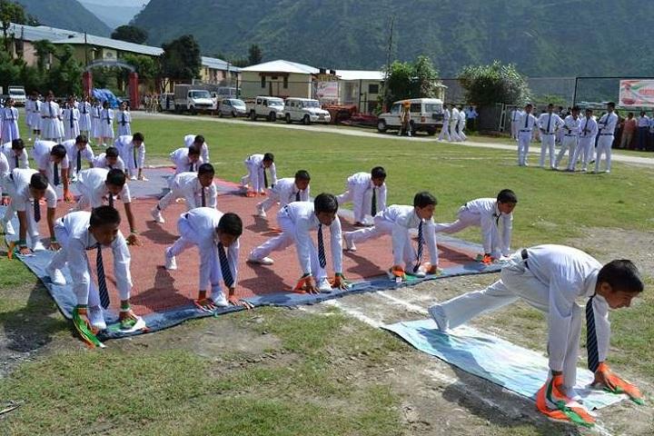 B S P Central School-Yoga
