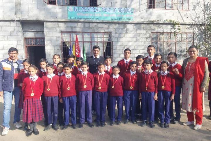 B L Central Public School-Students