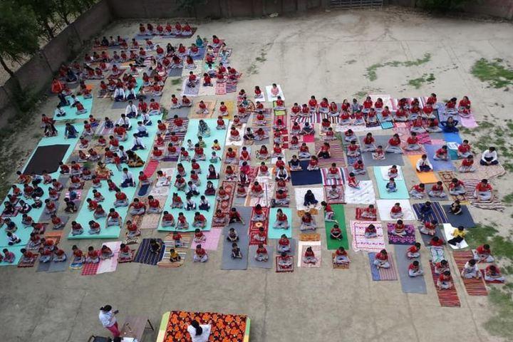 B L Central Public School-Yoga