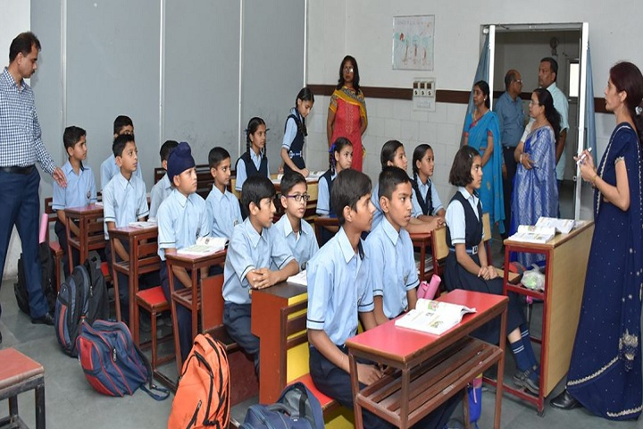 Bhojia Vidyapeeth-Classroom