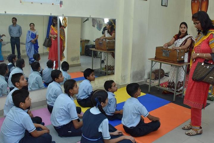 Bhojia Vidyapeeth-Music Class