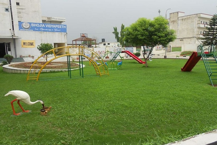 Bhojia Vidyapeeth-Play Area