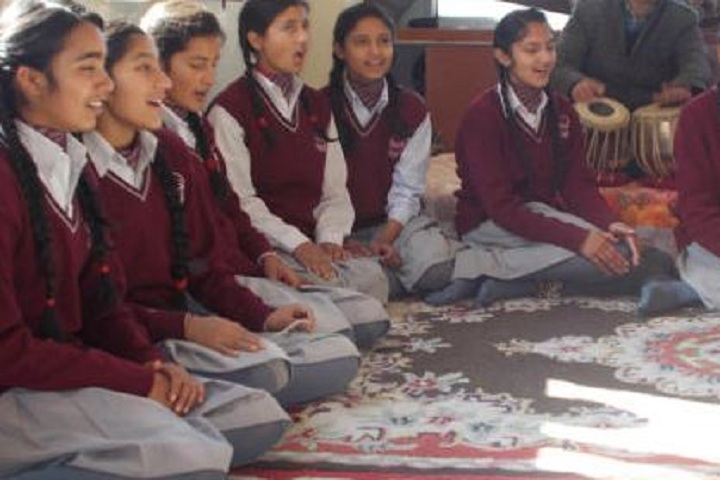 Brahmrishi Mission School-Music Class