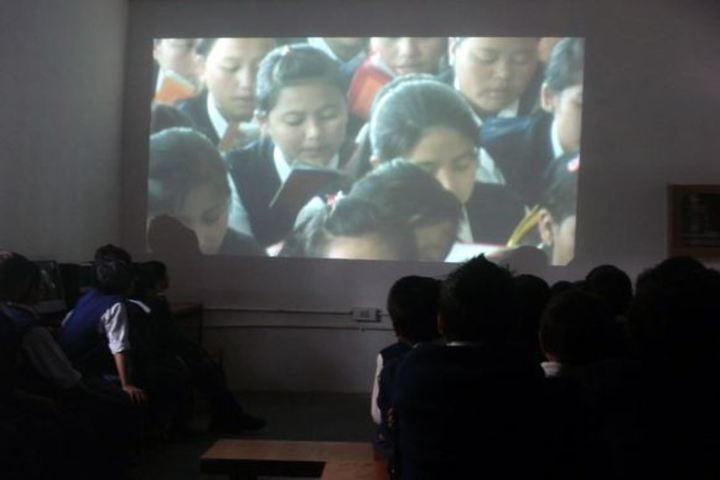 Central School For Tibetans-Projector Room