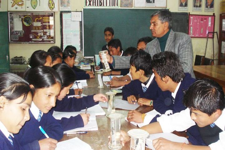 Central School For Tibetans-Science Lab