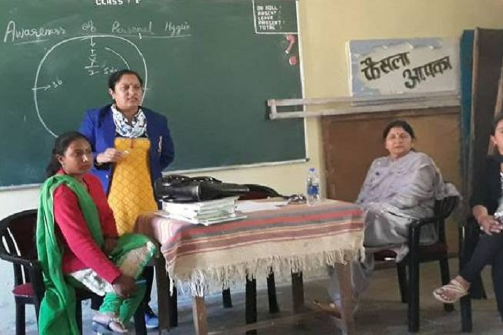 Central School For Tibetans-Health Awarness