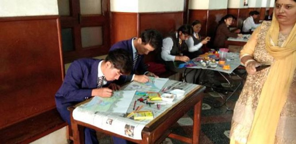 Central School For Tibetans-Painting