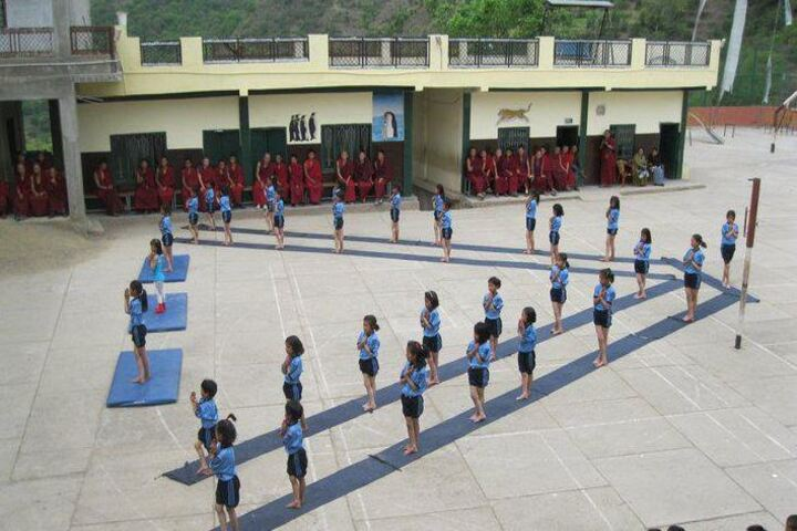 Central School For Tibetans-Yoga Day