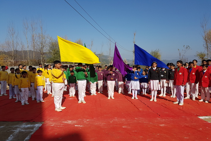 Chail Public School-Morning Assembly