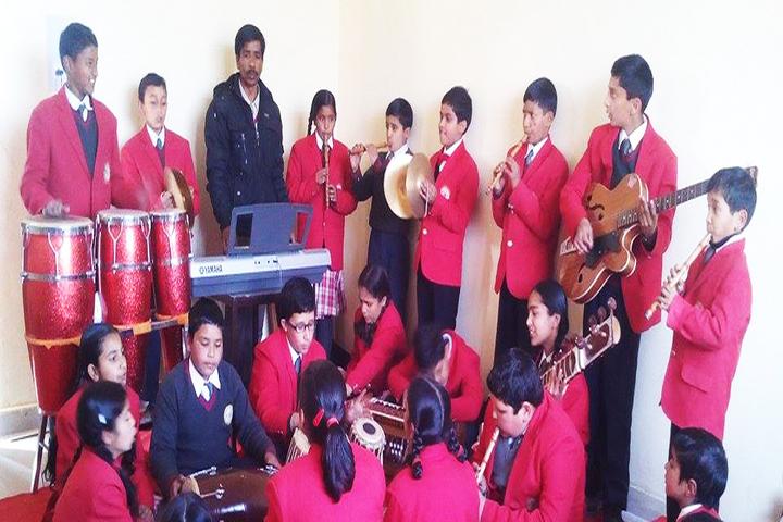 Chail Public School-Music Activity