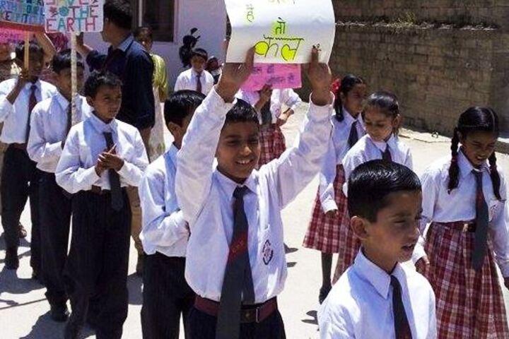 Chail Public School-Rally