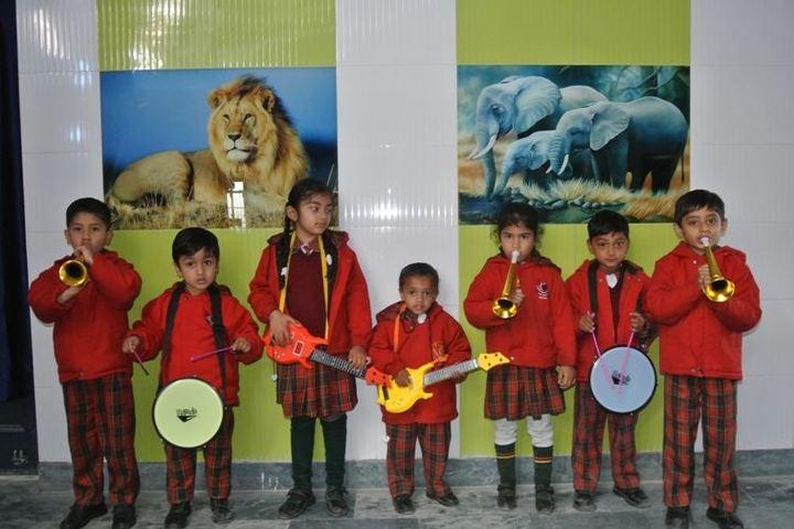 Comet Mensa Public School-Music