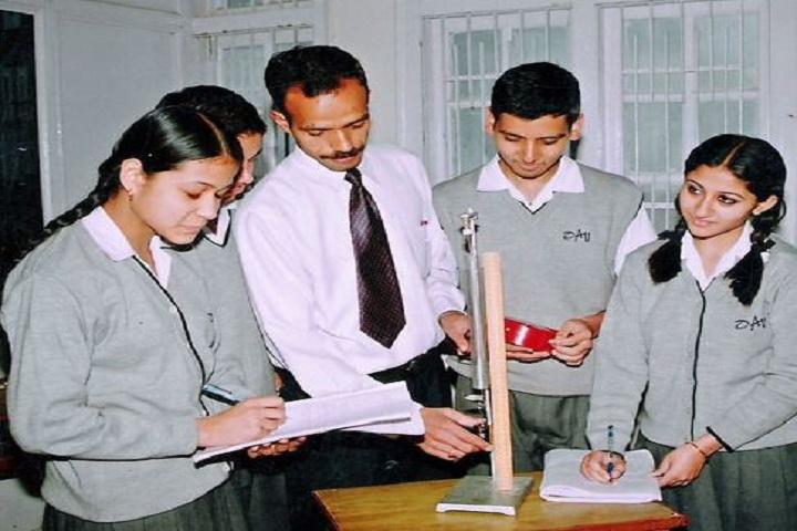 D A V Public School-Physical Lab