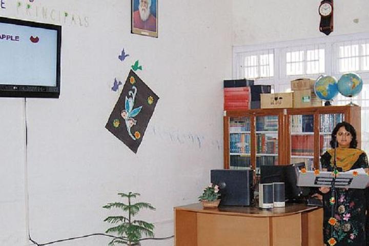 D A V Public School-Projector Room