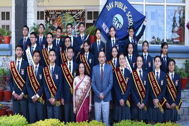 D A V Senior Secondary Public School-NCC