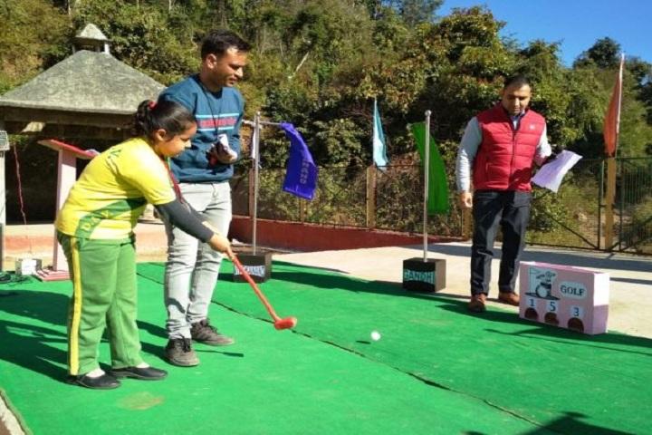 DAV Public School-Outdoor Games