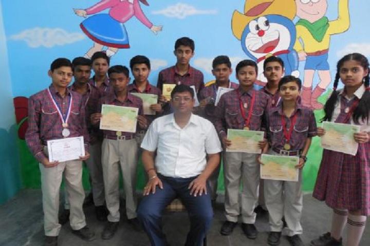 DAV Public School-Olympiad Winners