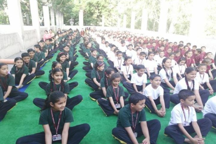 D A V Public School-Yoga