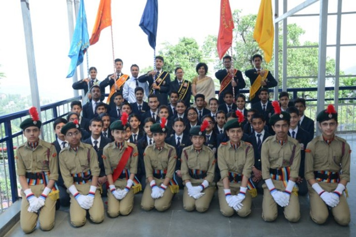 D A V Senior Secondary Public School-NCC Students