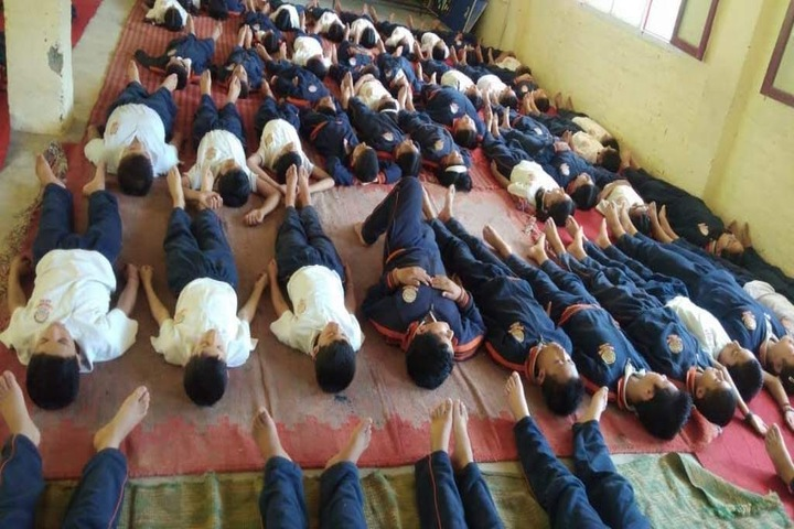 DAV Centenary Public School-Yoga Activity