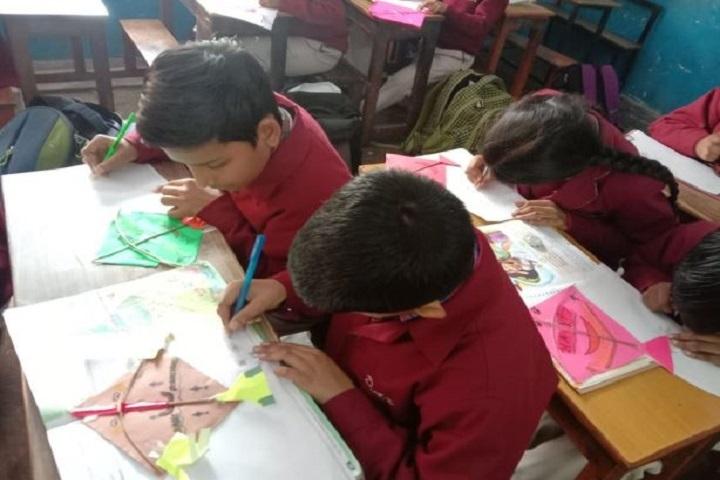 DAV Public School-Art room