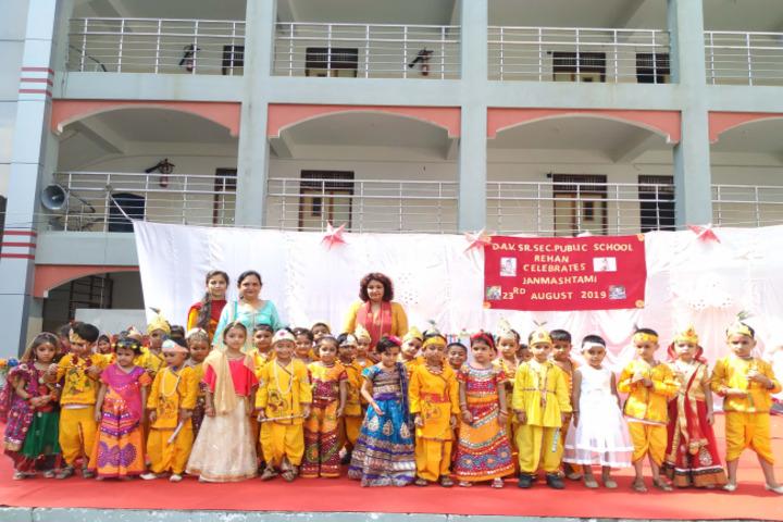 DAV Public School-Festival Celebration
