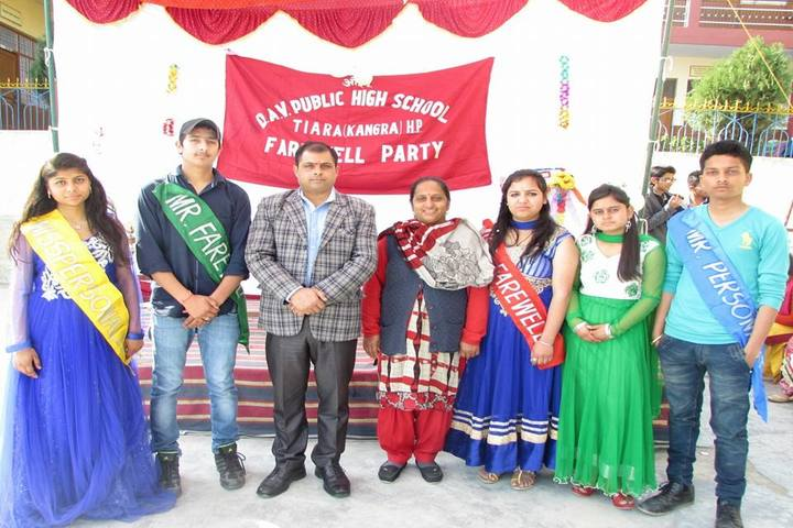 DAV Public School-Farewell Party