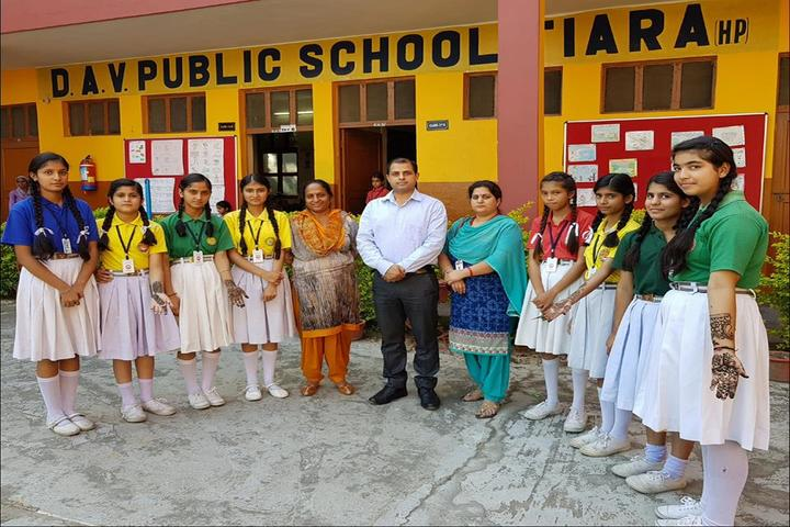 DAV Public School-Mehndi Competition