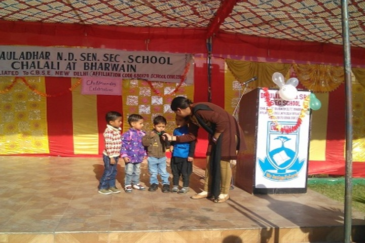 Dhauladhar Nirmla Devi Senior Secondary School-Childrens Day