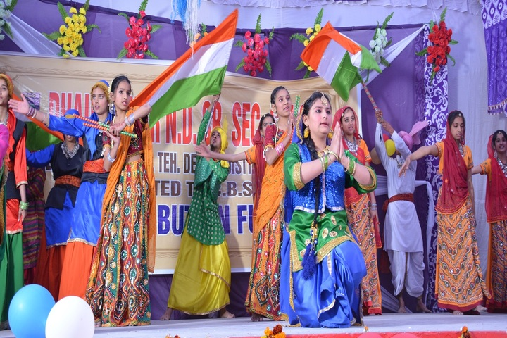 Dhauladhar Nirmla Devi Senior Secondary School-Independence Day