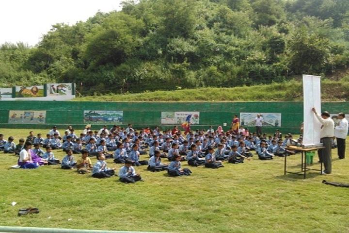 Dhauladhar Nirmla Devi Senior Secondary School-Yoga Day