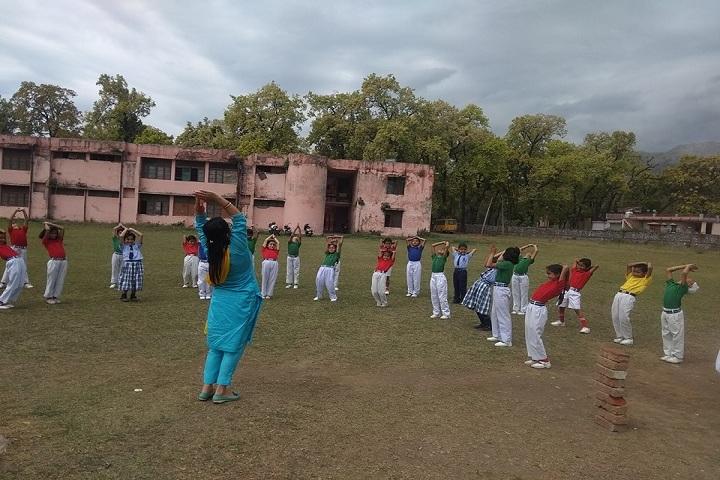 Doon Valley International School-Yoga Day