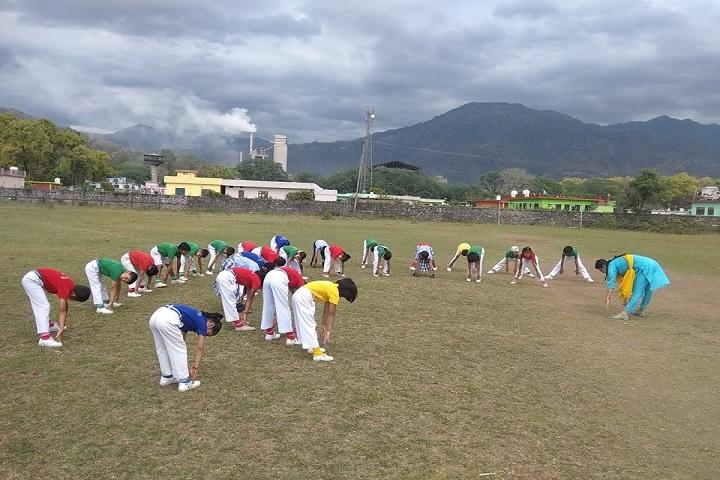 Doon Valley International School-Yoga