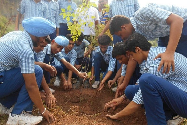 Doon Valley Public School-Planting Tree