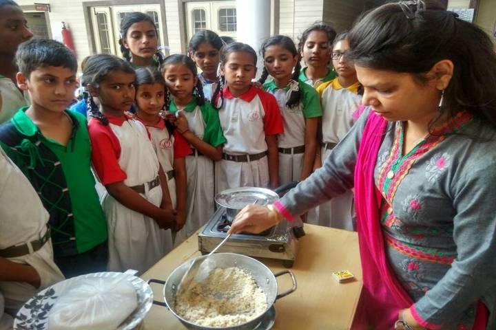 Golden Valley Public School-Cooking Activity
