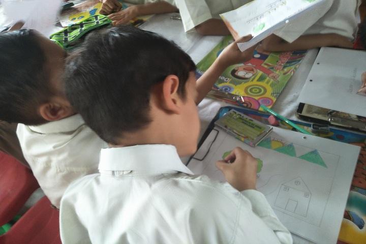 Green Field Senior Secondary School-Drawing