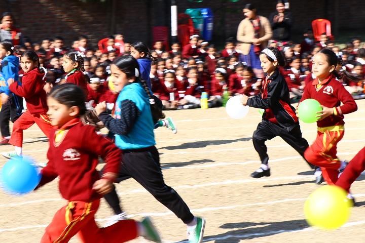 Green Field Senior Secondary School-Games