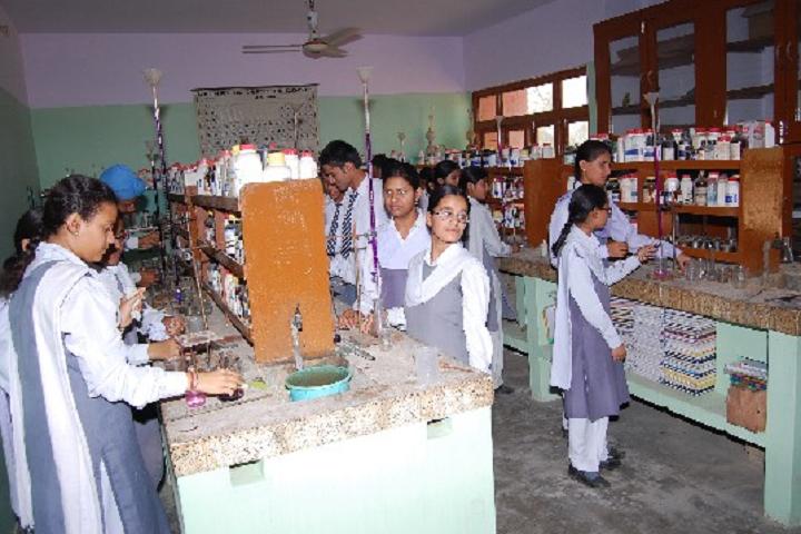 Guru Nanak Mission Public School-Chemistry-Lab