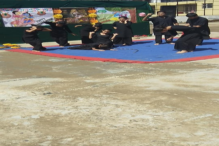 Gurukul International School-Dancing Activity