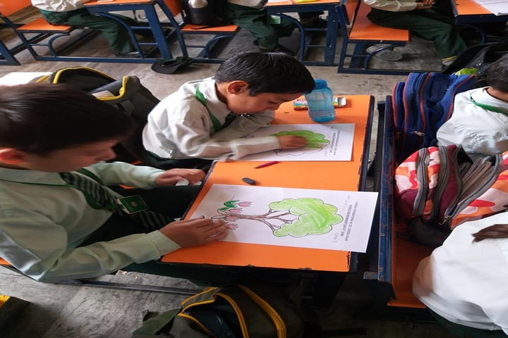 Gurukul International School-Drawing Competition