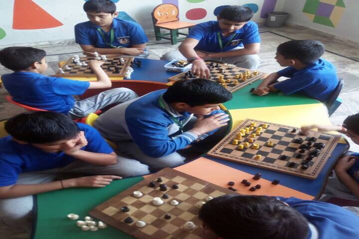 Gurukul International School-Indoor Games