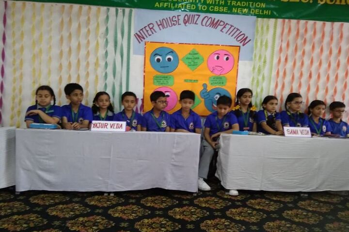 Gurukul International School-Quiz Competition