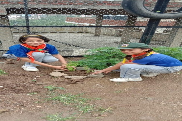 Gurukul International School-Tree Plantation
