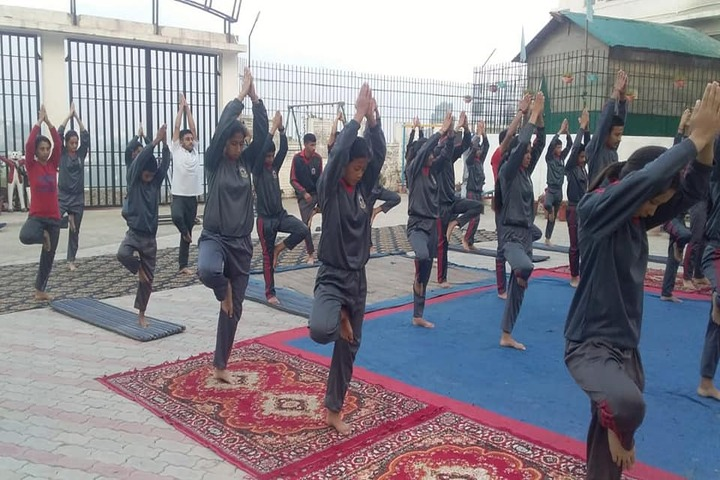 Gurukul International School-Yoga Activity