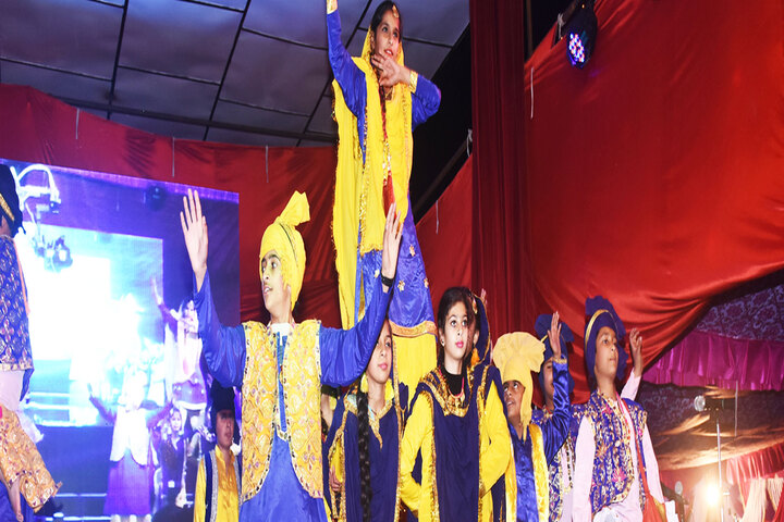 Gurukul International Senior Secondary School-Dancing Activity