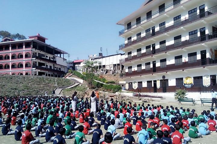 Gurukul Peach Valley International School Rajgarh-Campus-View